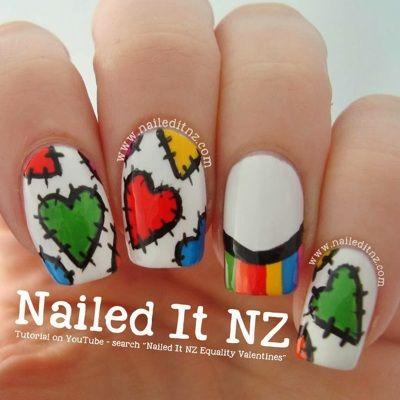 Valentine's Day Nail Art DIY Ideas that You'll Love15