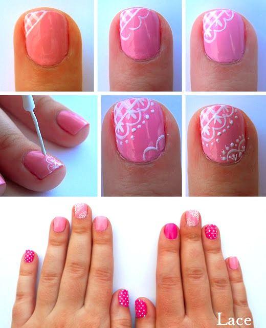 Valentine's Day Nail Art DIY Ideas that You'll Love16