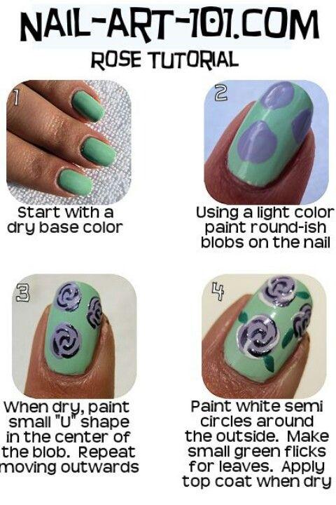 Valentine's Day Nail Art DIY Ideas that You'll Love18