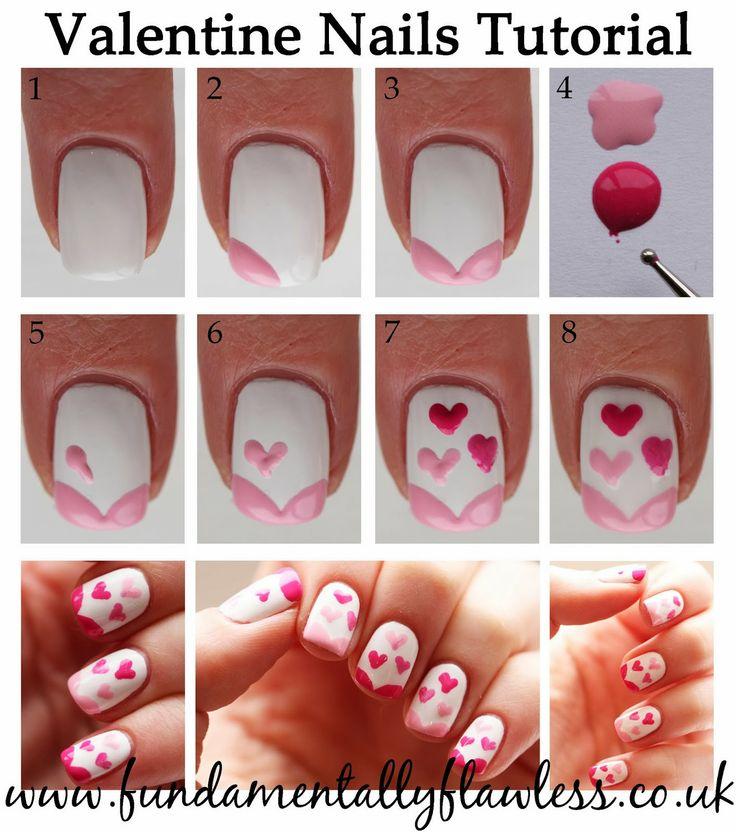 Valentine's Day Nail Art DIY Ideas that You'll Love19