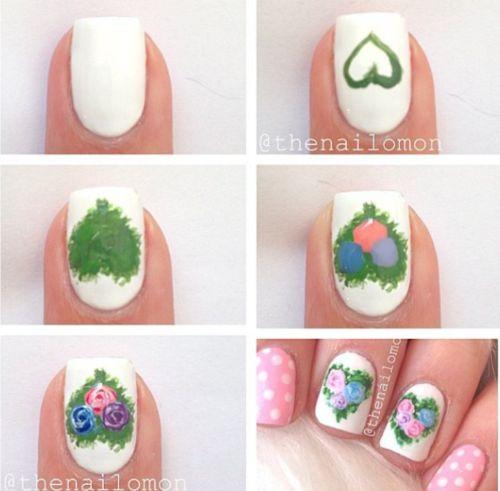 Valentine's Day Nail Art DIY Ideas that You'll Love23