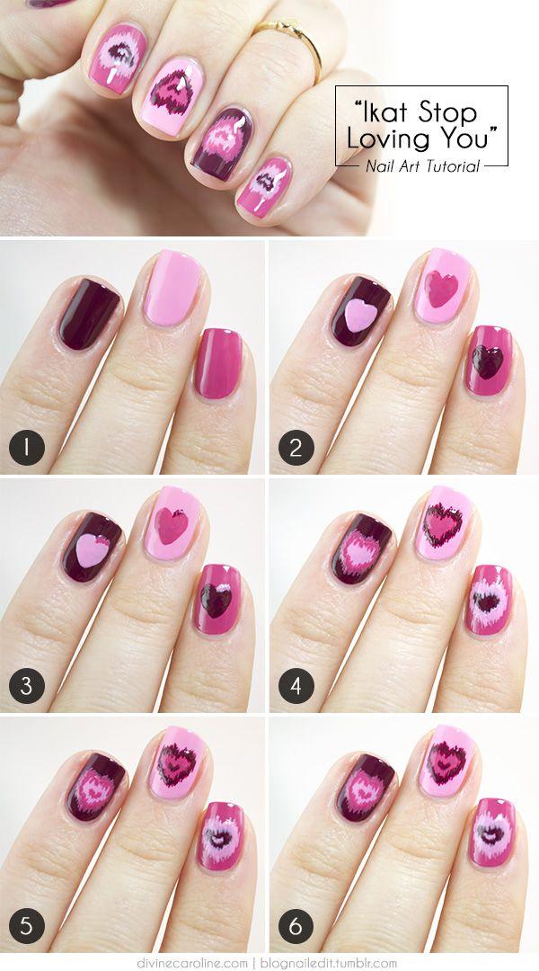 Valentine's Day Nail Art DIY Ideas that You'll Love31