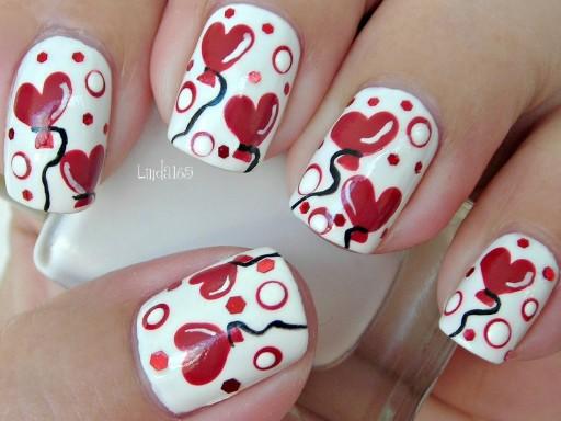 Valentine's Day Nail Art DIY Ideas that You'll Love37