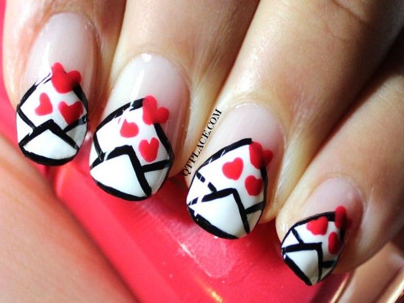 Valentine's Day Nail Art DIY Ideas that You'll Love40