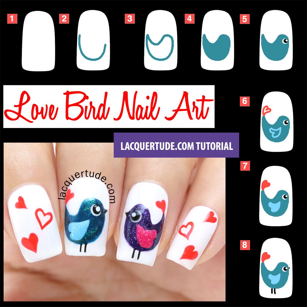 Valentine's Day Nail Art DIY Ideas that You'll Love41