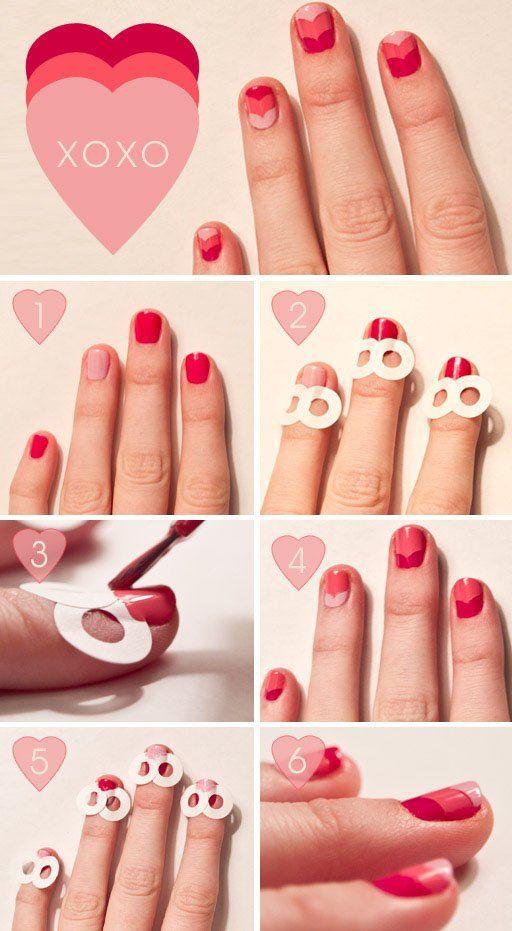 Valentine's Day Nail Art DIY Ideas that You'll Love5
