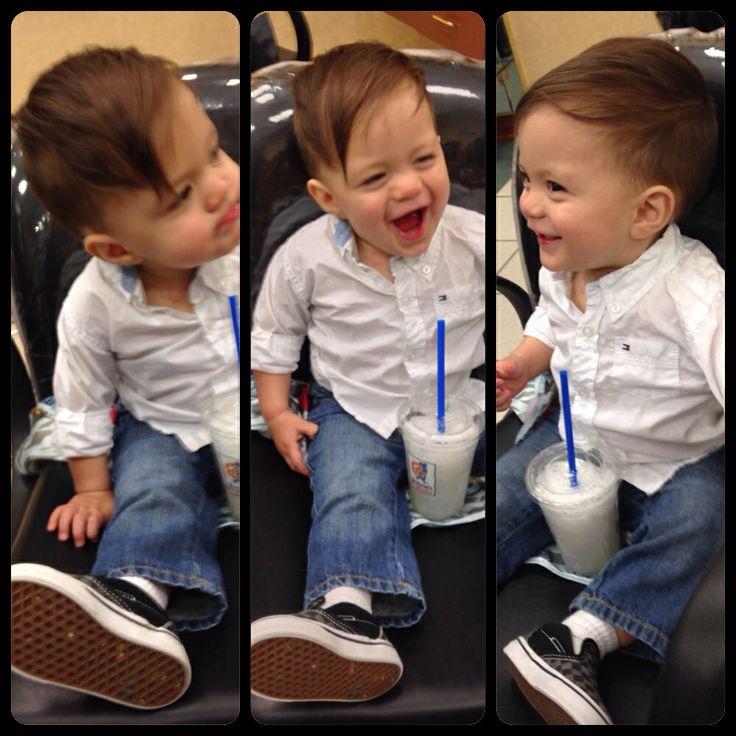 Toddler hipster haircut