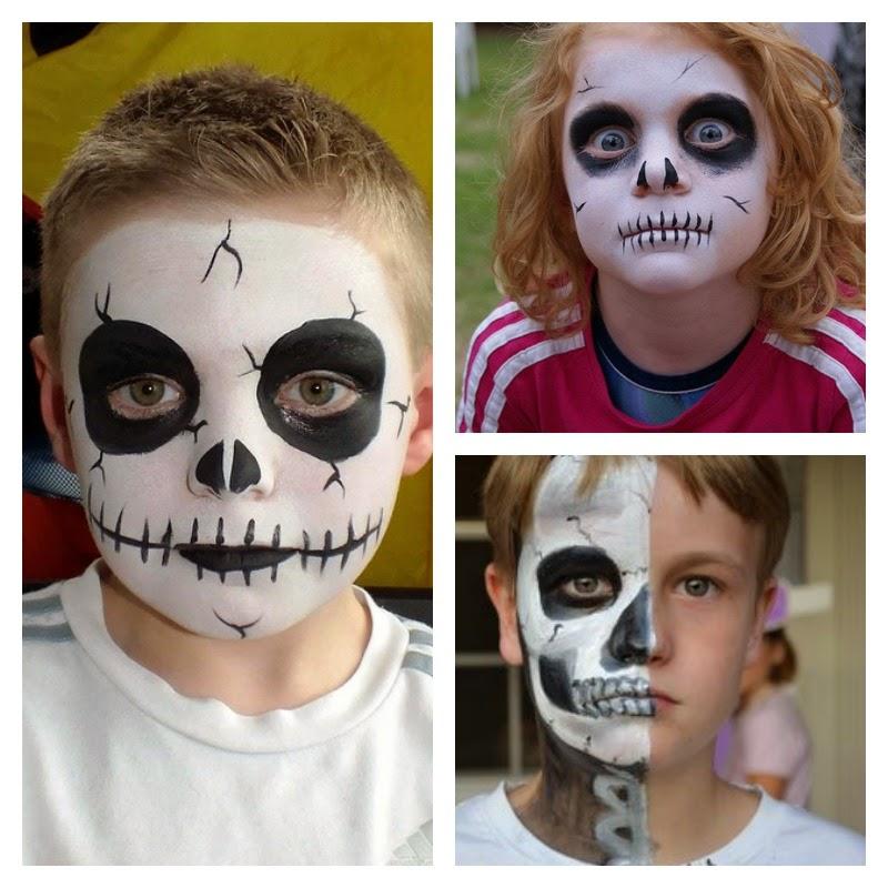 Το face painting της αποκριάς μόνο για αγόρια βήμα βήμα.ΒΙΝΤΕΟ και ΕΙΚΟΝΕΣ