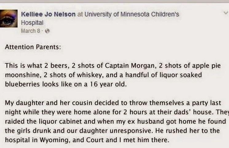 Μια απελπισμένη μητέρα έγραψε κάτι στο Facebook της κόρης της. Διαβάστε το!!!