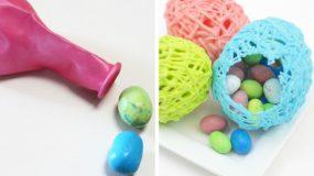 Συνταγή:Σοκολατενια αυγα με χρωματιστη σοκολάτα.Η τελεια ιδεα για το Πασχα!