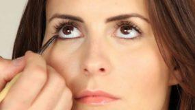 Ο σωστός τρόπος δημιουργίας της κάτω γραμμής στο μακιγιάζ ματιών