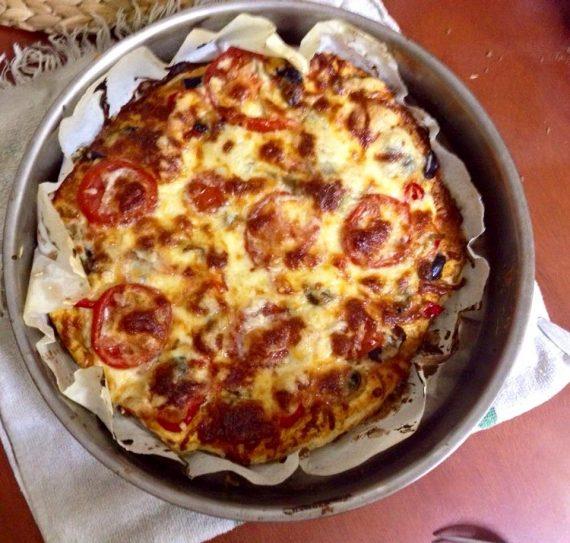Η πιο λαχταριστή νηστίσιμη πίτσα!