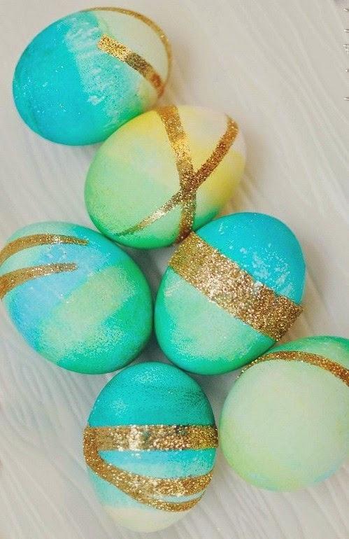 10+2 Διαφορετικές τεχνικές για να βάψεις τα πασχαλινά αυγα
