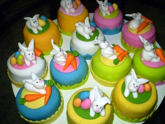 Συνταγες και ιδεες για Πασχαλινά cup cakes