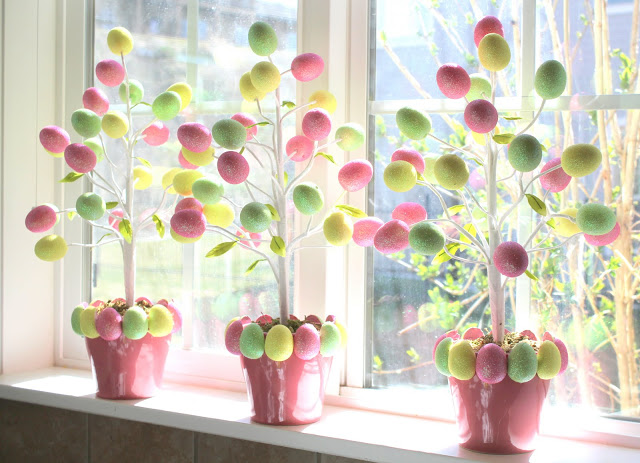 egg tree easter crafts