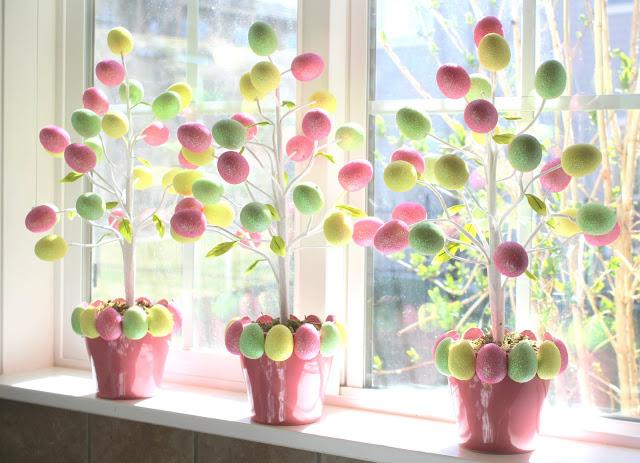 egg tree easter crafts