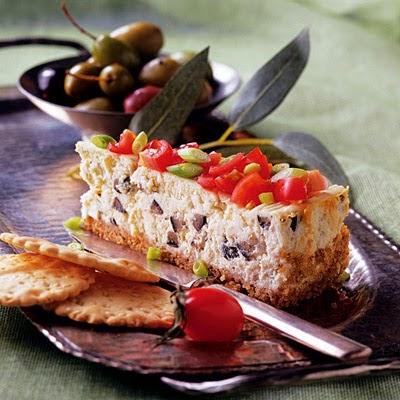 Αλμυρο cheese cheesecake με φετα!Ιδανικο για μπουφε-και παρτυ