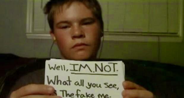 Ενα παιδί, θύμα ενδοσχολικής βίας, μιλάει με τη σιωπή του.Συγκλονιστικο video που πρεπει να το δουν γονεις και παιδια