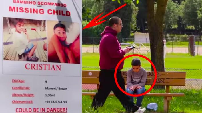 Νομιζεις οτι μπορεις  να αναγνωρίσεις ένα εξαφανισμένο παιδί από μια αφισα - Βίντεο