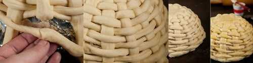 Η τέλεια ιδέα για το Πάσχα. Πασχαλινό ζυμαρενιο  καλάθι .Οδηγιες βημα βημα και βιντεο