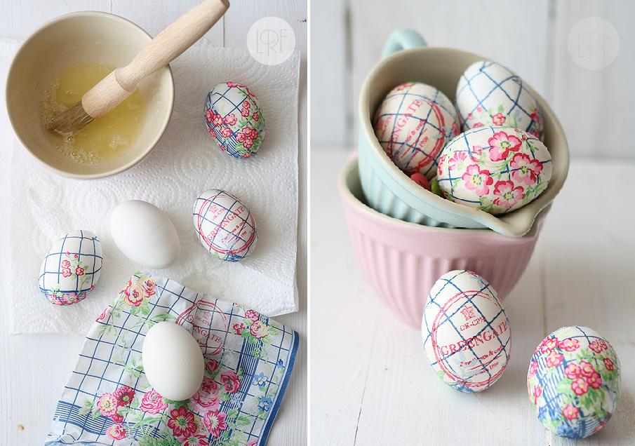 Στολίστε τα πασχαλινά αυγά με μια χαρτοπετσέτα!