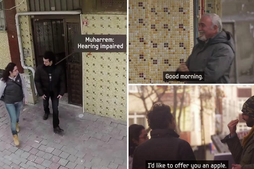 Στην Κωνσταντινούπολη μια ολόκληρη γειτονιά έμαθε τη νοηματική για να επικοινωνήσει με κωφάλαλο!ΒΙΝΤΕΟ
