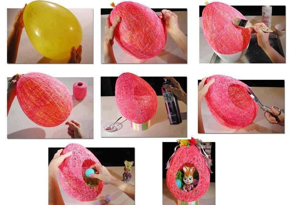 Φτιαξτε ενα υπεροχο Πασχαλινο αυγο .Ιδανική ιδέα για δωρακι