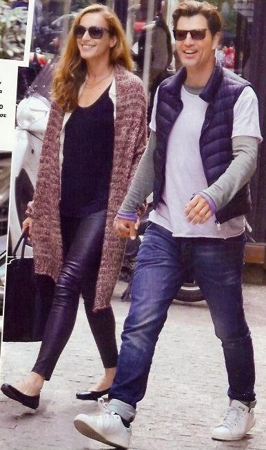 Σάκης Ρουβάς- Κάτια Ζυγούλη: Φιλιά στο κέντρο της Αθήνας-Είχαν ραντεβού μόνο για δύο!