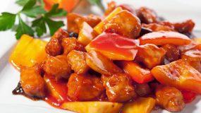 Γλυκόξινη σάλτσα με μαρμελάδα πορτοκάλι!δανικη για κρεατικα και ψαρικα