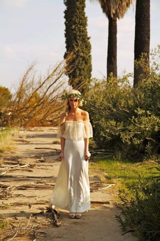 Δες πως να πετύχεις το τέλειο Bohemian look...Η νέα τάση στις νύφες για το 2015
