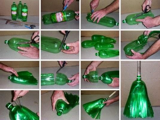 Κόβει σε λωρίδες ένα πλαστικό μπουκάλι γιατί;Η κατασκευή που σίγουρα δεν έχετε σκεφτεί!