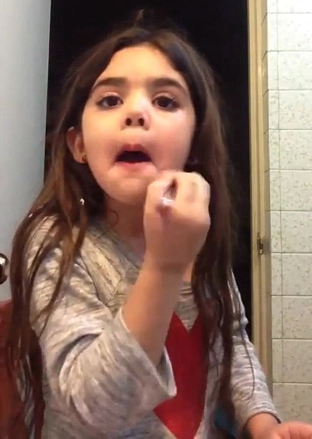 VID: YouTube Beauty Adviser Aged Five Causes Controversy