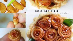 Εντυπωσιακή ιδέα για μπούφε!Τριανταφυλλενια τάρτα μήλου!