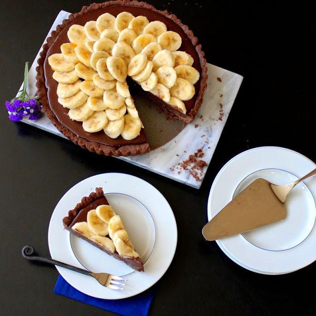 Τάρτα σοκολάτας χωρίς ζάχαρη
