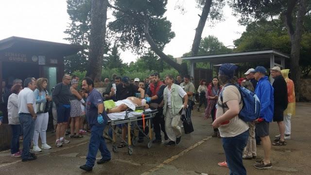 Έκτακτη είδηση: 6 τραυματίες μετά από «χτύπημα» κεραυνού στον αρχαιολογικό χώρο της Κνωσού!