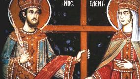 Ποιοι είναι ο Άγιος Κωνσταντίνος και η Αγία Ελένη που γιορτάζουν σήμερα