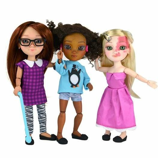 Κούκλες με ειδικές ανάγκες για πρώτη φορά στο εμπόριο.