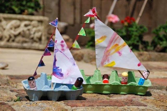 Super κατασκευες για παιδια με ανακυκλώσιμα υλικά