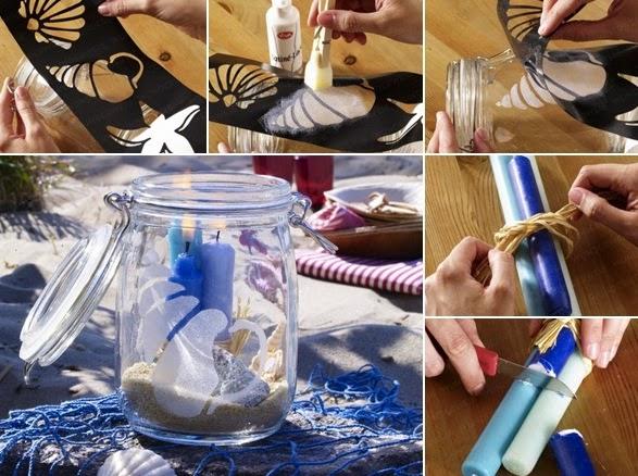 Υπέροχες ιδέες για καλοκαιρινές συνθέσεις με κοχύλια
