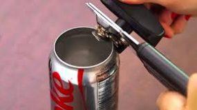 Δείτε 3 τρόπους για αξιοποιήσετε τα κουτάκια αναψυκτικών!(VIDEO)