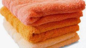 2 κολπα για να κάνετε τις πετσέτες σας ξανά αφράτες  !