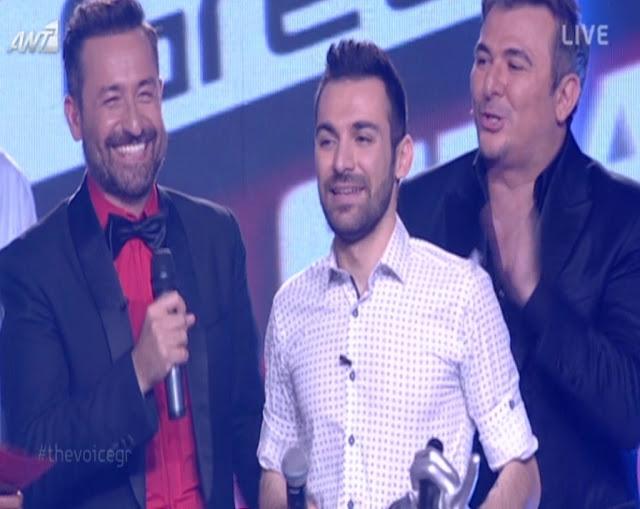 Τελικός του Voice 2: Ποιος ήταν ο μεγάλος νικητής του show?