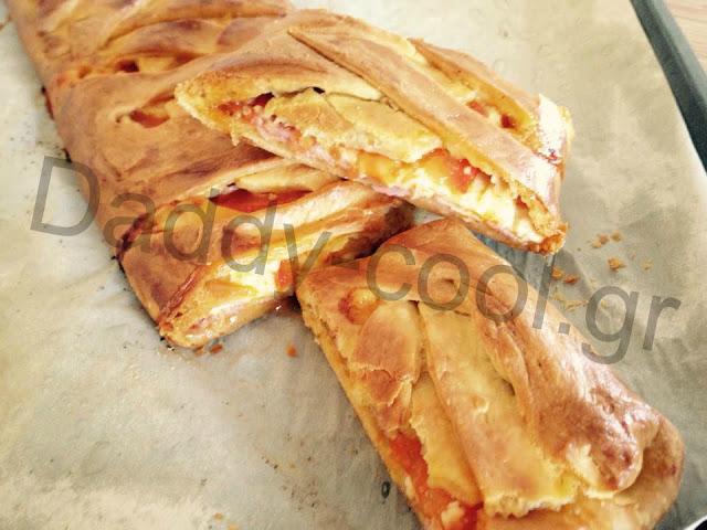 Φανταστικη πιτσα στρούντελ απο την Ελένη Μακροδημήτρη