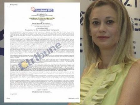 Δείτε τα έγγραφα – φωτιά της Ραχήλ Μακρή για την Eurobank... που μετέφερε 25 δις στα νησιά Κέυμαν!!!