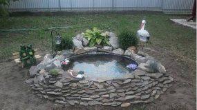 Έχεις κήπο;Δες πως μπορείς να φτιάξεις μόνος σου πανεύκολα μια λιμνούλα! DIY