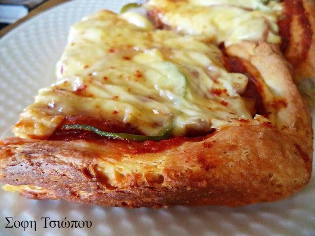 Συνταγή για pizza -express