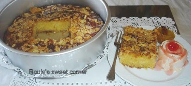 Φανταστικη σιροπιαστη Λεμονόπιτα με φύλλο κρούστας  από την Ρούλα Ψιττάκη