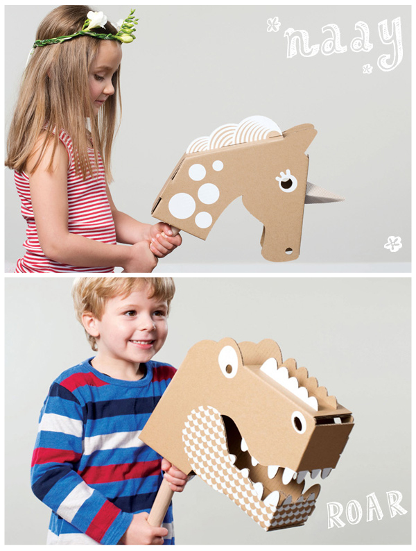 46. Αλογάκι-παιδικό παιχνίδι από χαρτόνι