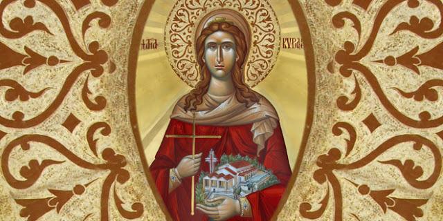 Αγία Κυριακή η Μεγαλομάρτυς: Η Αγία που διώχνει την κατάθλιψη