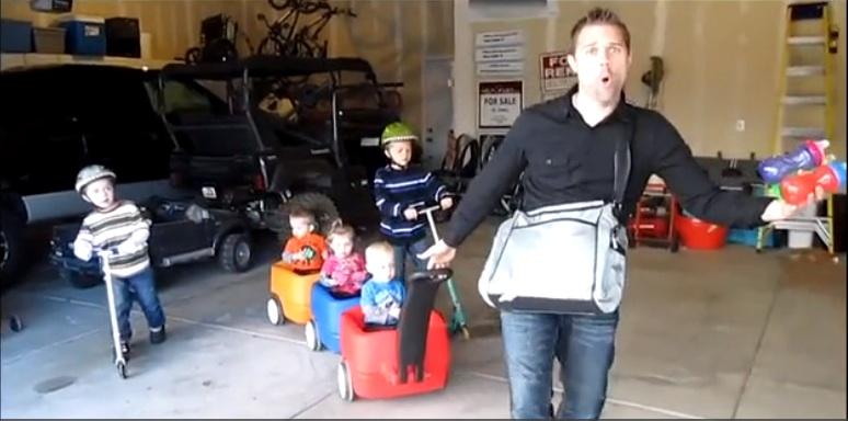 Ειμαι μπαμπας και το ξερω!Το video που τα σπαει!!!